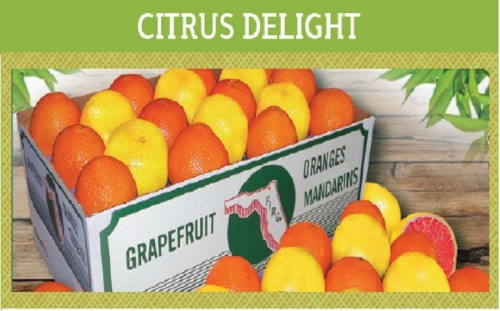 Citrus Delight: 12 Each of Navels, Grapefruit & Mandarins